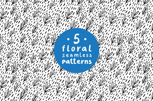 Floral Patterns Set 3