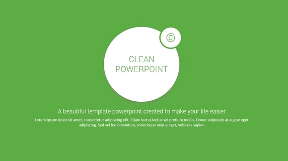 GREEN Powerpoint Template