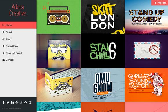Adora Creative HTML5 Template