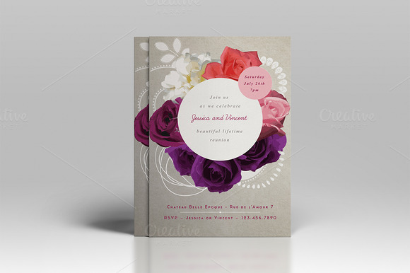 Premium Wedding Invitation