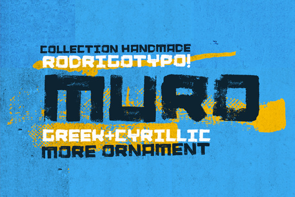 Muro Ornament Cyrillic Greek