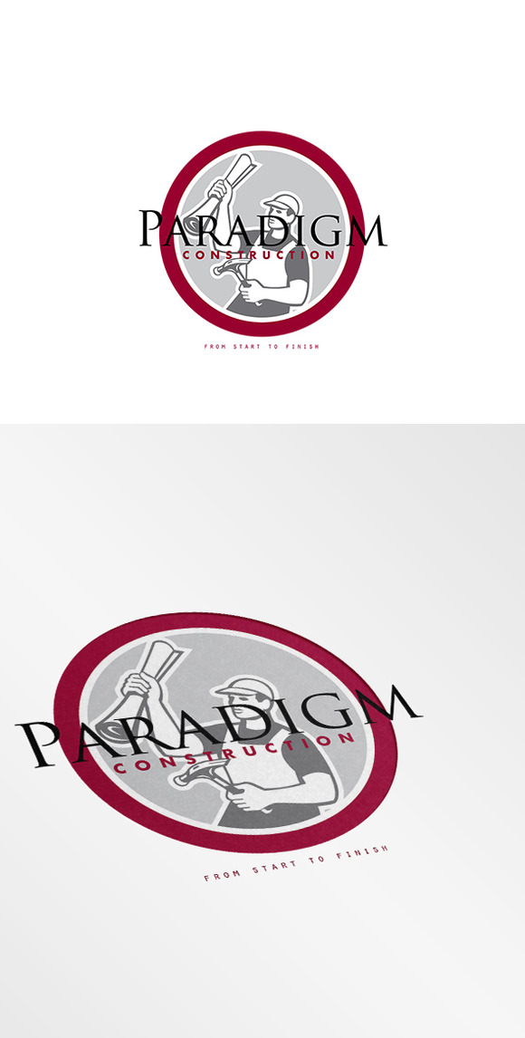 Paradigm Construction Logo