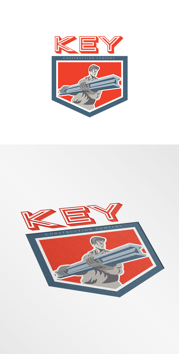 Key Construction Company Logo