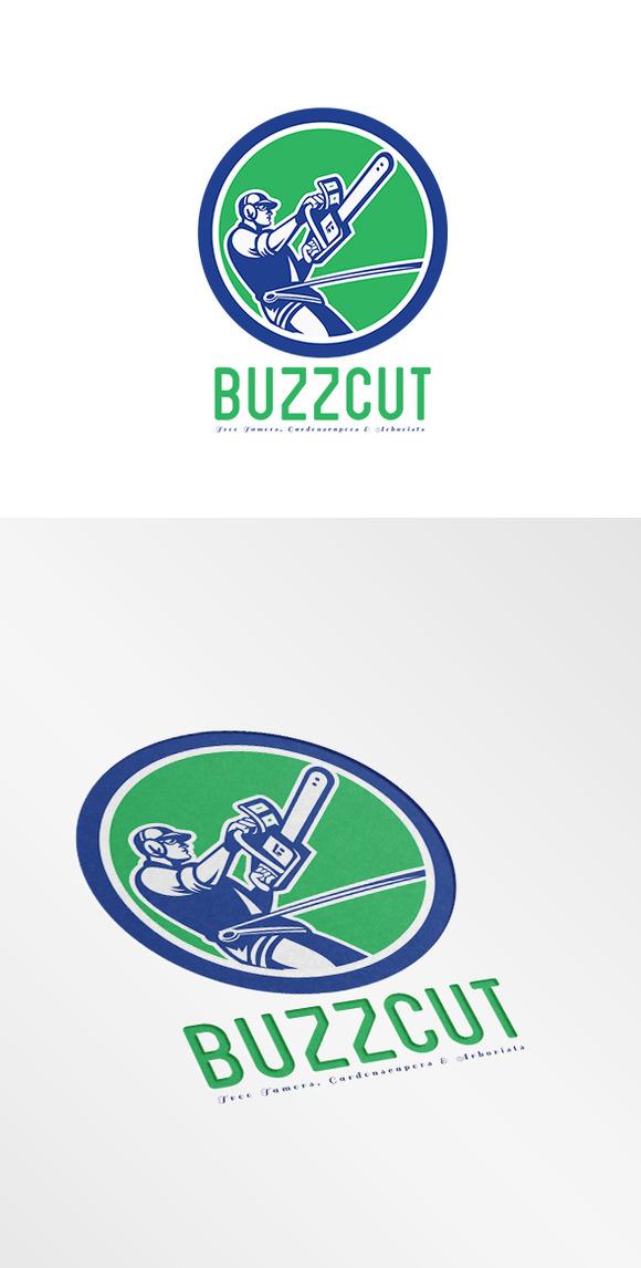 BuzzCut Gardenscapers Arborists Logo