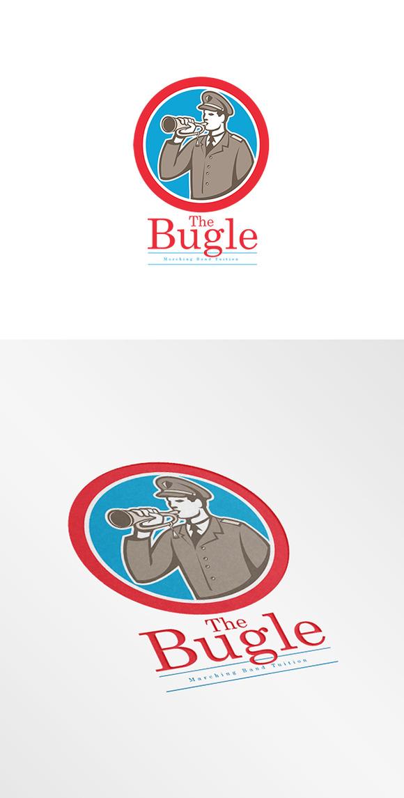 Bugle Marching Band Logo