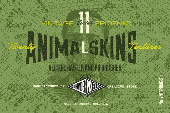 20 Animal Skins Textures VES11
