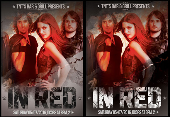 Event Flyer Red
