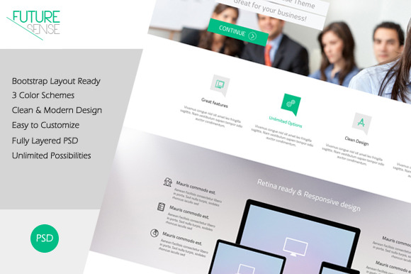 FutureSense MultiPurpose Template