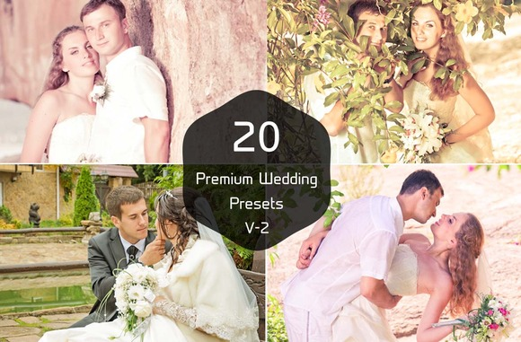 20 Wedding Photography V-2 Presets