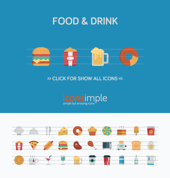 Iconsimple Food Drink