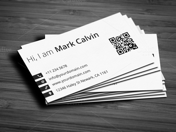 Simple Individual Business Card V2