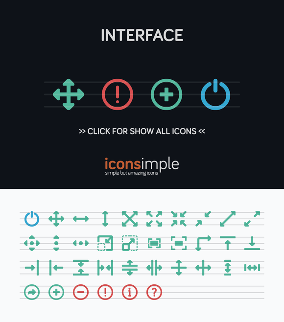 Iconsimple Interface