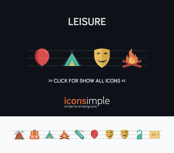 Iconsimple Leisure