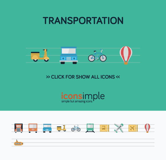 Iconsimple Transportation