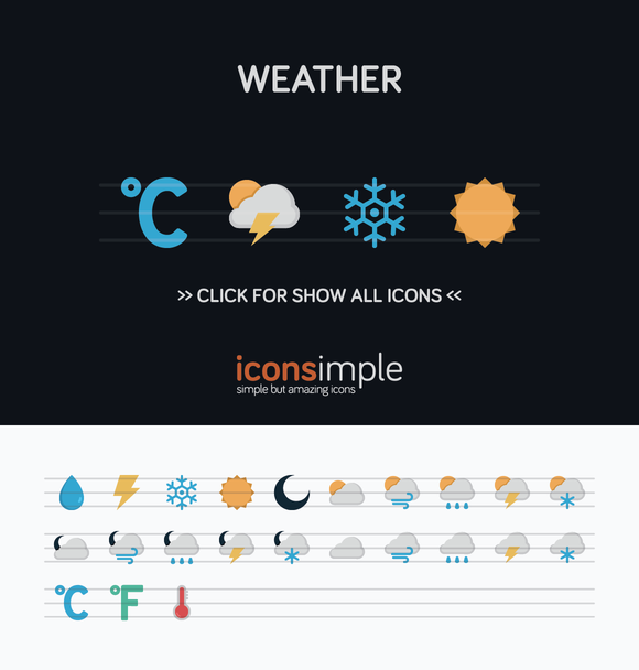 Iconsimple Weather