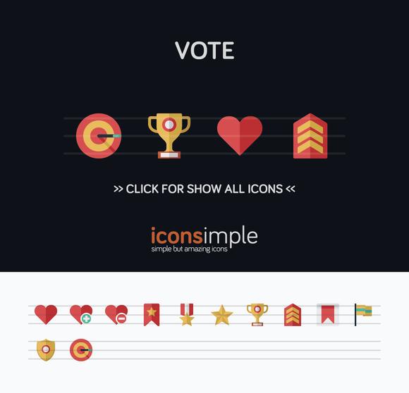 Iconsimple Vote