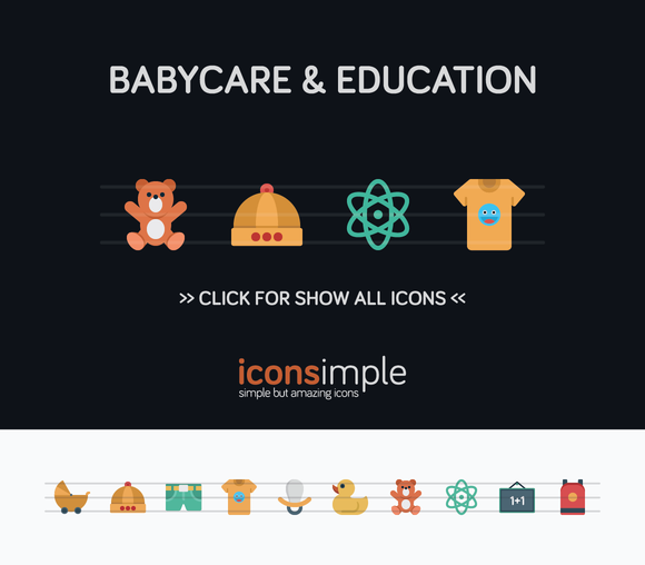 Iconsimple Babycare Education