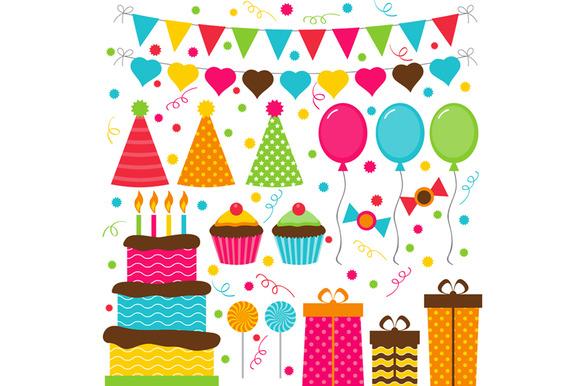 Digital Happy Birthday Set