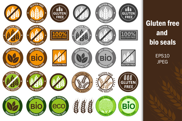 §іollection Gluten Free Bio Seals