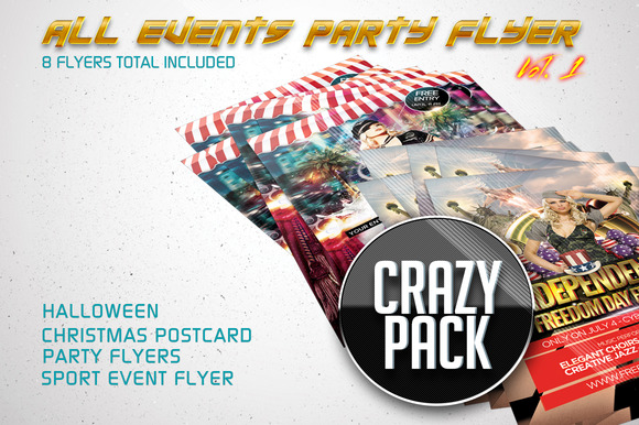 All Events Flyer Pack Vol.1