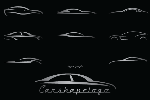 Car Shapes For Logos #2