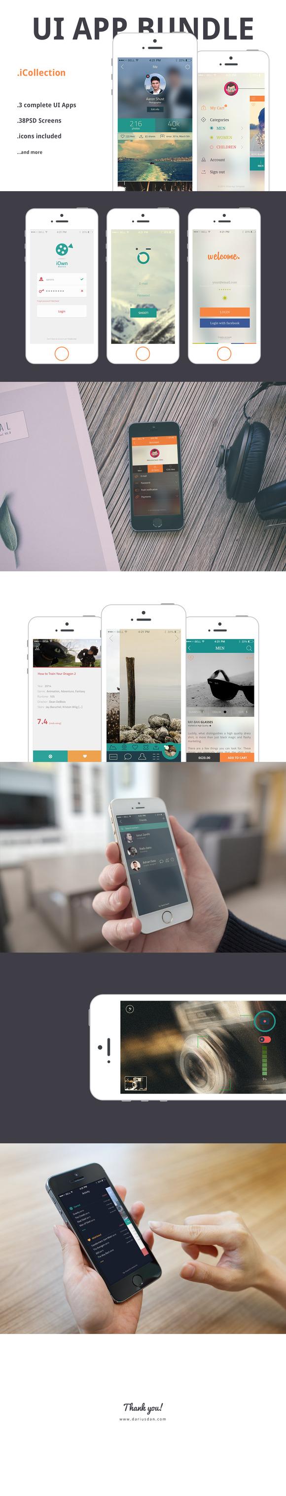 ICollection UI Apps BUNDLE