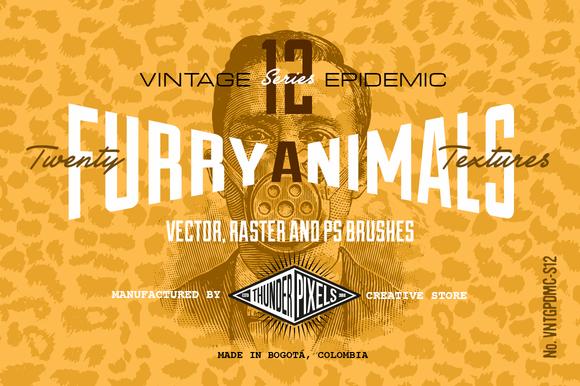 20 Furry Animal Textures VES12