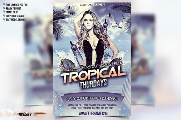 Tropical Thurdays