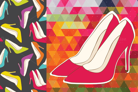 Women High Heel Shoes Patterns