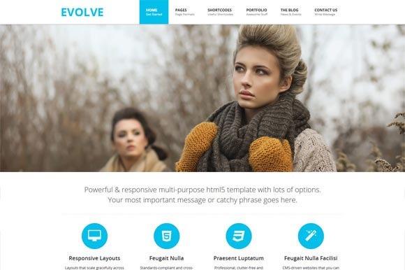 EVOLVE Responsive HTML5 Template