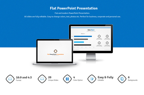 Flat PowerPoint Presentation