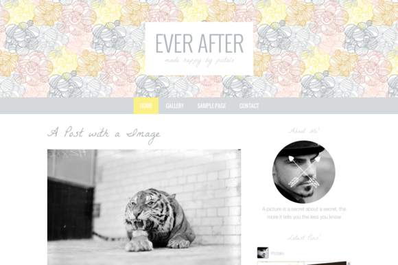 Wordpress Theme Ever After