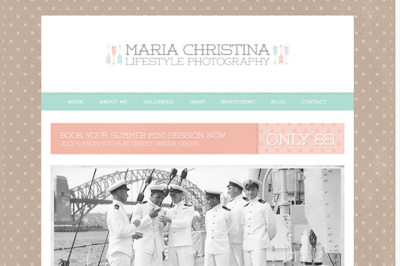 Wordpress Theme Maria