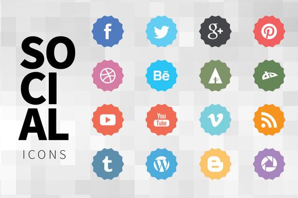 Nice Social Icons