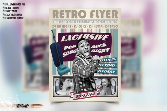 Retro Flyer Party II