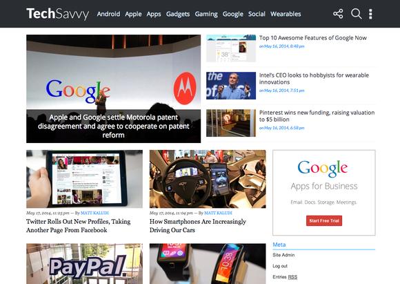 TechSavvy Technology Blogging Theme