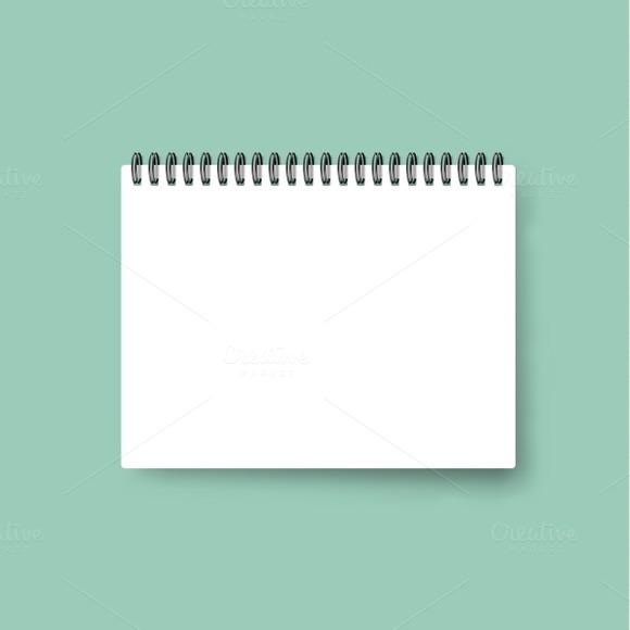 Realistic Calendar Template