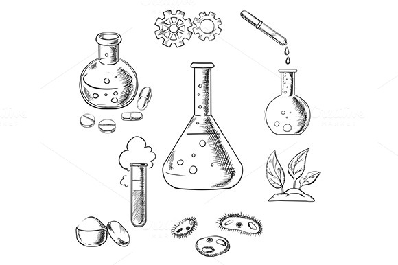 Experiment And Science Sketches