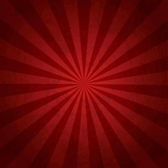 Rays Background Red Burst