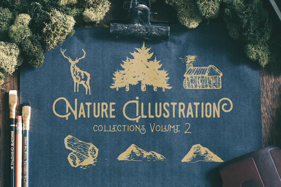 Nature Illustration Collections V2