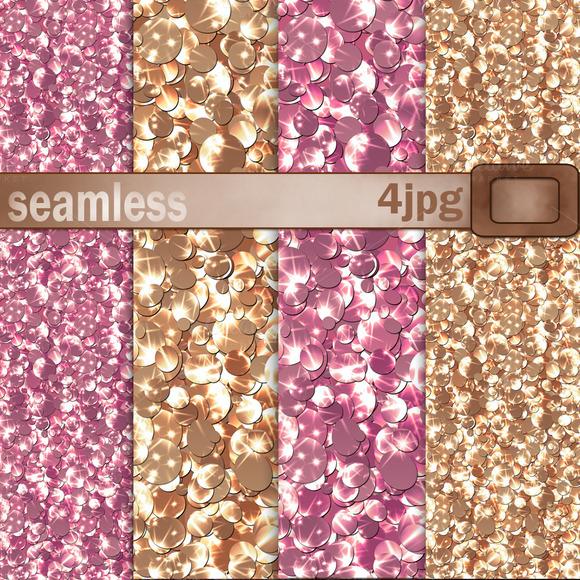 Seamless Textures Glitter Confetti