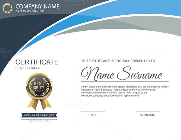 Vector Certificate Template 10 In 1