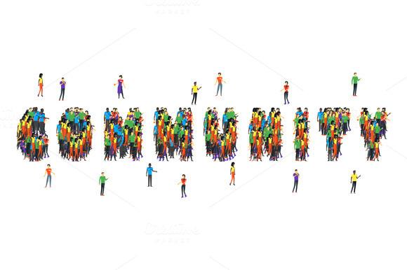 Community Word Form People