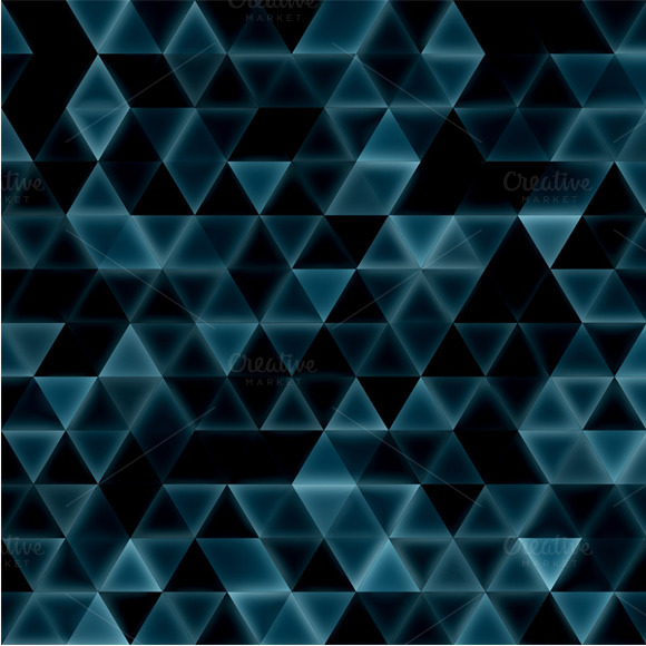 Dreamy Triangles Matted Pattern