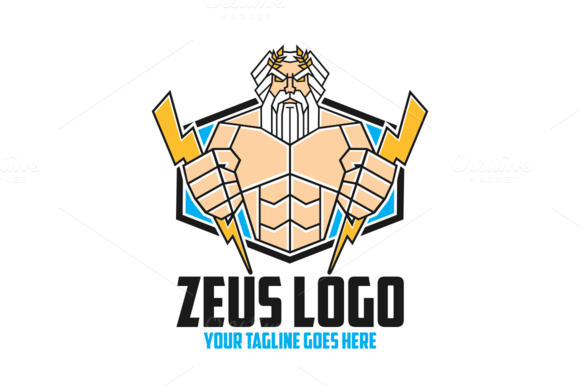 Zeus Lightning Bolts And Clouds » Designtube - Creative ...