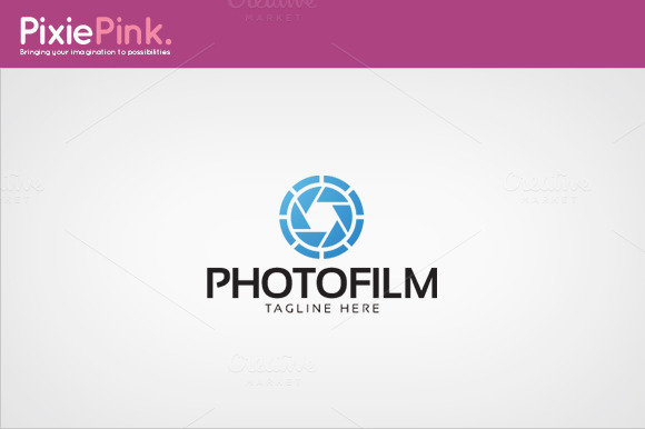 Photo Film Logo Template