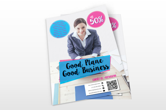 Simple Business Flyers