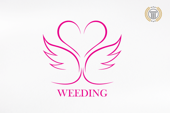 Weeding Marriage Premium Logos