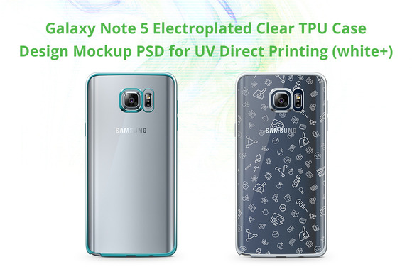 Galaxy Note 5 Electro Clear TPU