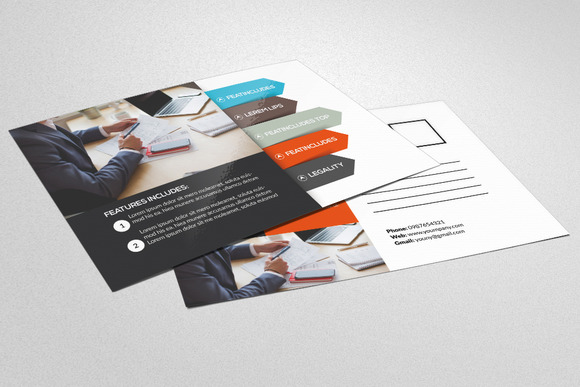Multi Use Business Post Cards